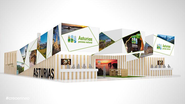 Stand del Principado de Asturias en FITUR