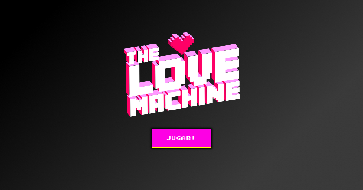 Marketing interno: The Love Machine by Neozink