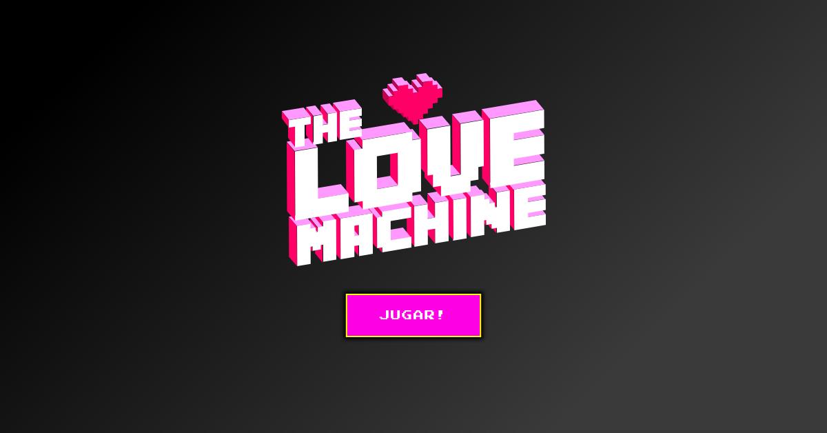Marketing interno: The Love Machine by Neozink