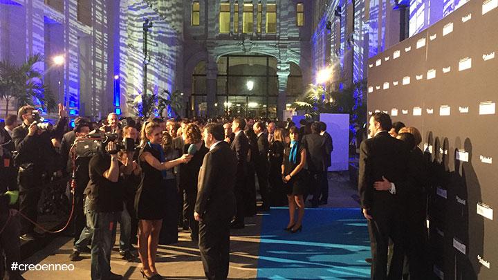 Organización del evento para el banco Sabadell por Neozink