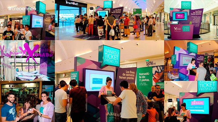 Promociones en el Centro Comercial Xanadú